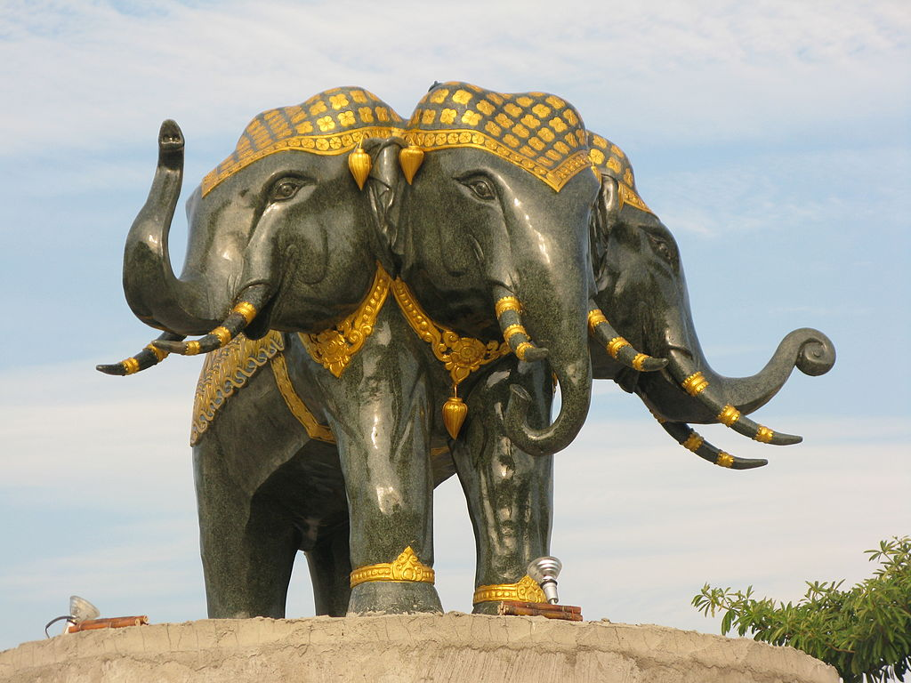 Asian elephants in mythology